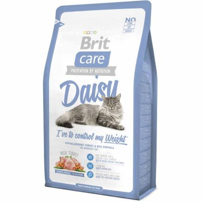Brit Care - Brit Care Cat Daisy I've to Control My Weight Hindili Light Kedi Maması 2 Kg