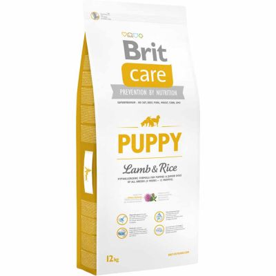 Brit Care - Brit Care Puppy All Breed Lamb & Rice Yavru Köpek Maması 12 Kg