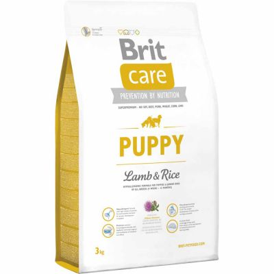 Brit Care - Brit Care Puppy All Breed Lamb & Rice Yavru Köpek Maması 3 Kg