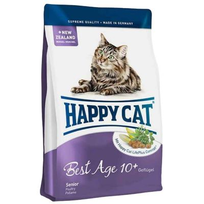 Happy Cat - Happy Cat Best Age 10+ Yaş İçin Tavuklu Kedi Maması 1.4 kg