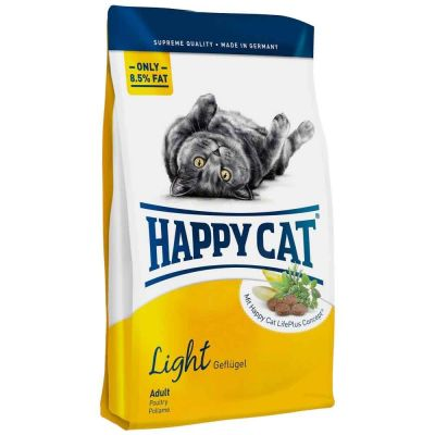 Happy Cat - Happy Cat Light Tavuk Etli Diyet Kedi Maması 1.4 kg