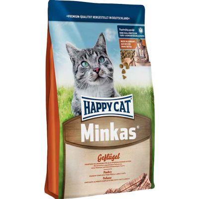 Happy Cat - Happy Cat Minkas Tavuklu Yetişkin Kedi Maması 4 kg