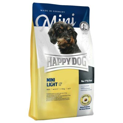 Happy Dog - Happy Dog Mini Light Low Fat Küçük Irk Diyet Köpek Maması 4 Kg