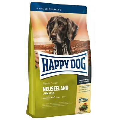 Happy Dog - Happy Dog Neuseeland Kuzu Etli Köpek Maması 4 Kg