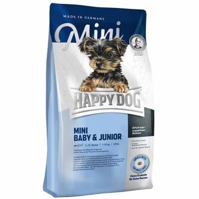 Happy Dog - Happy Dog Mini Baby & Junior Tavuklu Yavru Köpek Maması 4 kg