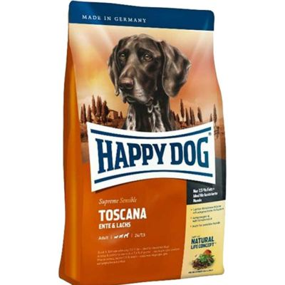 Happy Dog - Happy Dog Toscana Ördekli Somonlu Köpek Maması 12.5 kg