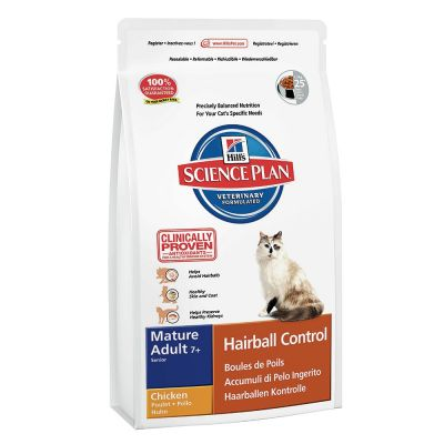 Hills Science Plan - Hills Mature Adult 7+ Hairball Tavuklu Kedi Maması 1.5 Kg