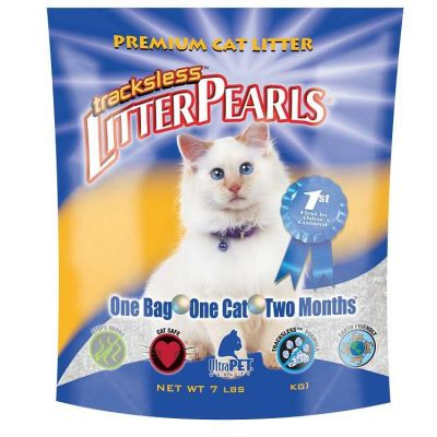 Litter Pearls - Litter Pearls Trackless Kedi Kumu 3.18 Lbs 1,81 Kg