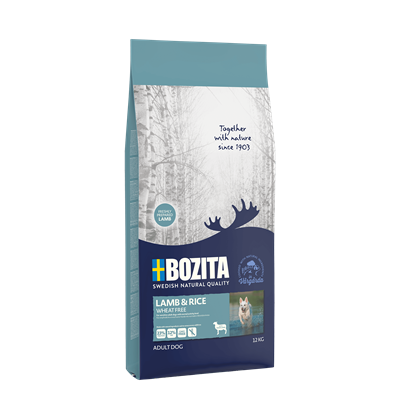 Bozita - Bozita Lamb and Rice Wheat Free Kuzu Etli Buğdaysız 3,5 kg