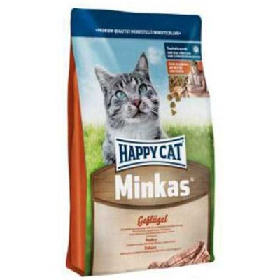 Happy Cat - Happy Cat Minkas Mit Geflügel Tavuk Etli 4 Kg