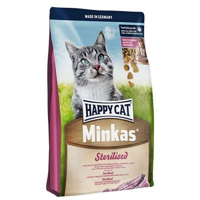 Happy Cat - Happy Cat Minkas Sterilised Kedi Maması 10 kg