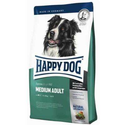Happy Dog - Happy Dog Fit & Well Medium Adult 4 Kg