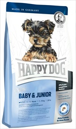 Happy Dog - Happy Dog Super Premium Mini Baby & Junior Tavuk Etli 4 Kg