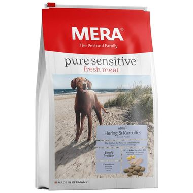 Mera - Meradog Fresh Meat Herring & Potato Ringa ve Patatesli Köpek Maması 4 Kg